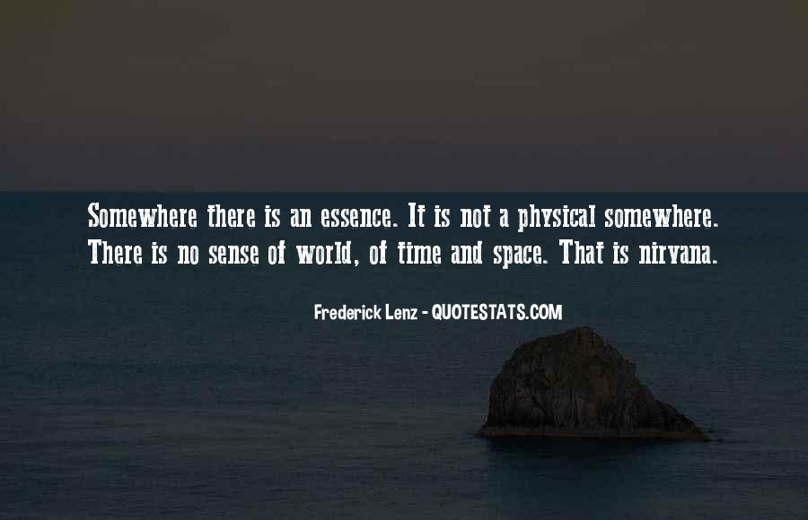 Quotes About Physical Space #258245