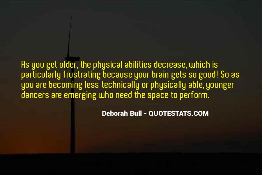Quotes About Physical Space #480578