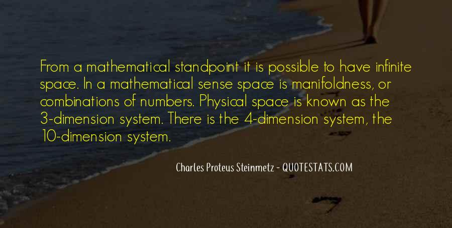 Quotes About Physical Space #70124