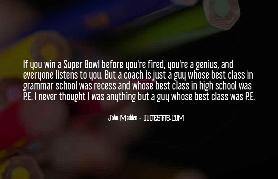 Quotes About P.e. Class #1087915