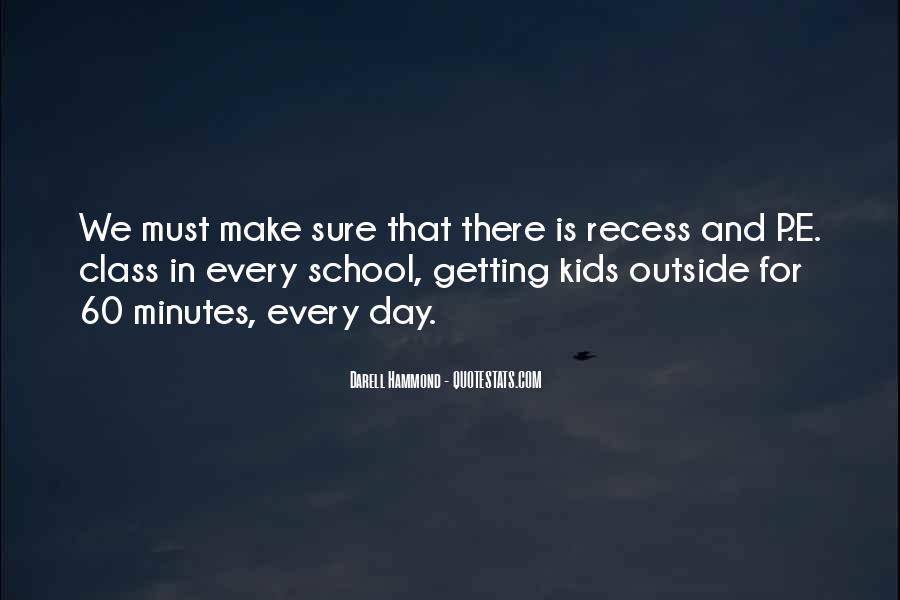 Quotes About P.e. Class #953943