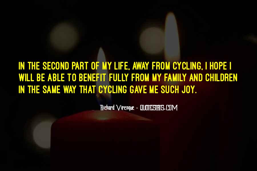 Quotes About Cycling And Life #972887