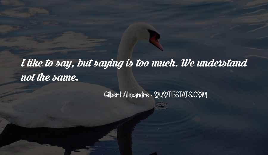 Quotes About Not Saying Too Much #1490585