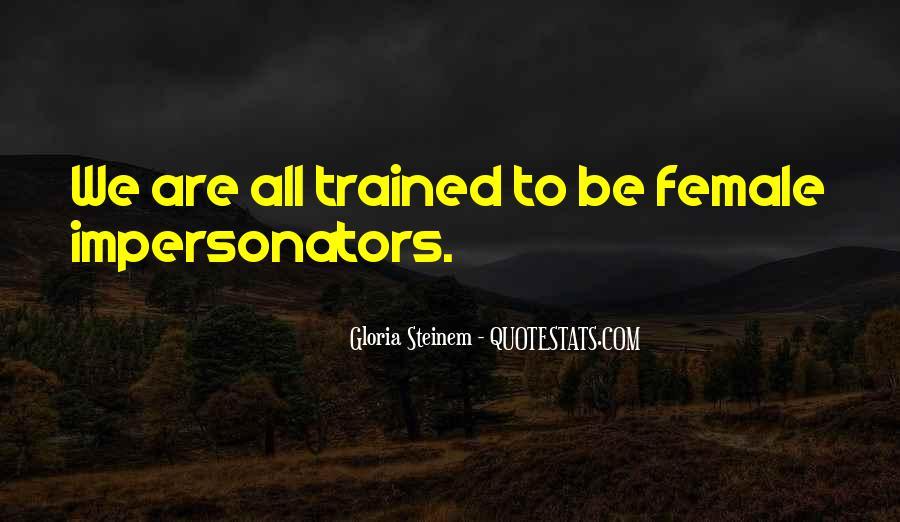 Quotes About Impersonators #398434