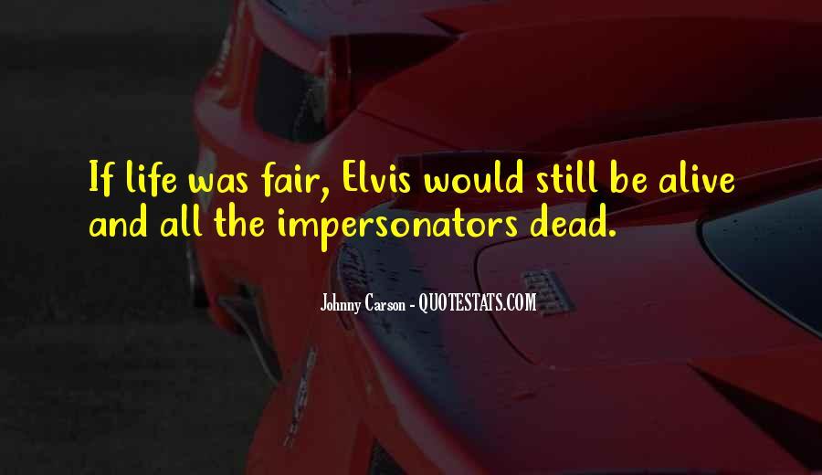 Quotes About Impersonators #626904