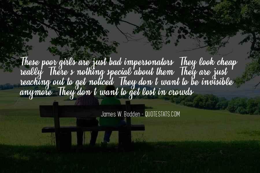 Quotes About Impersonators #808257