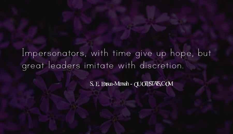 Quotes About Impersonators #963927
