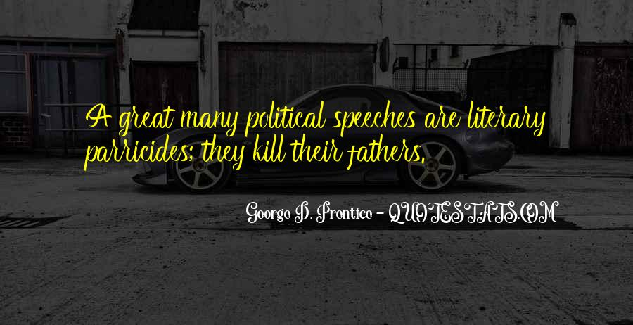 Quotes About Great Speeches #1755872