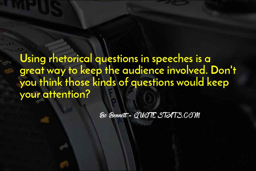 Quotes About Great Speeches #905210