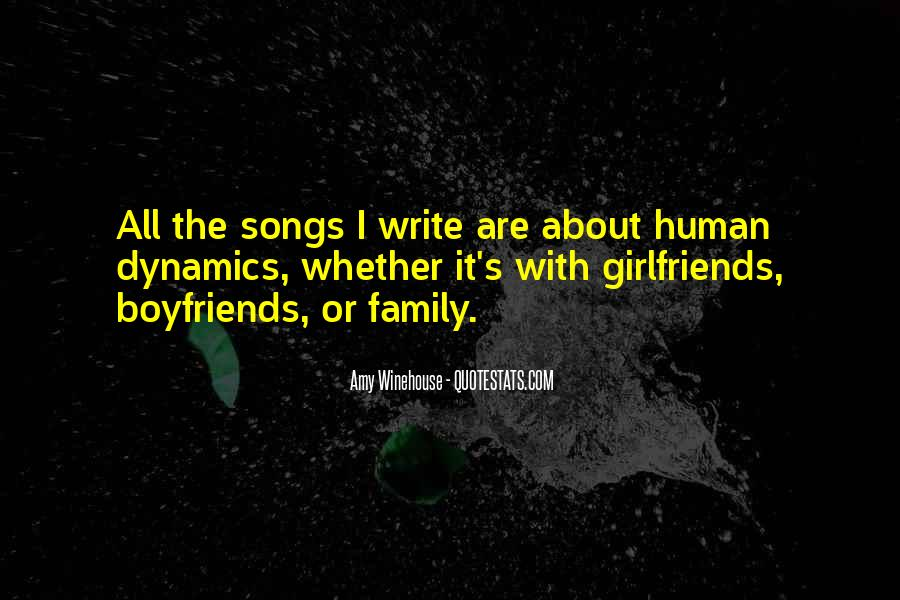 Quotes About My Boyfriend's Family #1540853