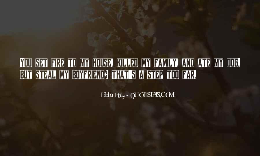 Quotes About My Boyfriend's Family #169682