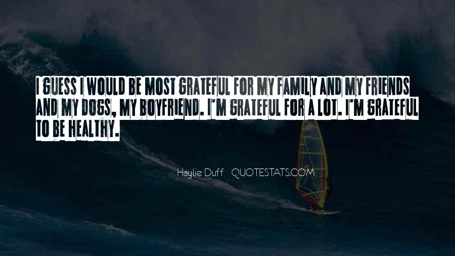 Quotes About My Boyfriend's Family #412714