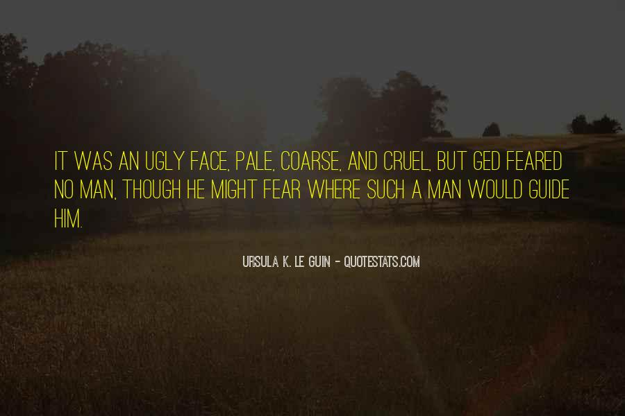 Quotes About Pale Face #995650