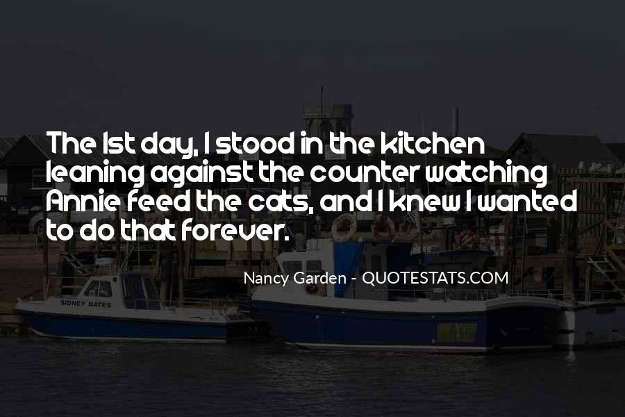 Quotes About Cats In The Garden #111914