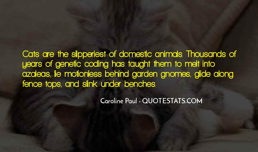 Quotes About Cats In The Garden #165533