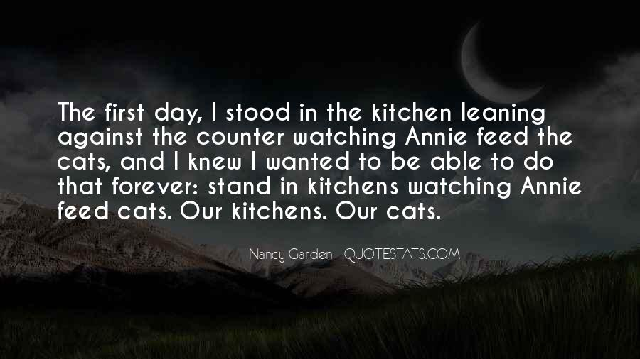 Quotes About Cats In The Garden #997316