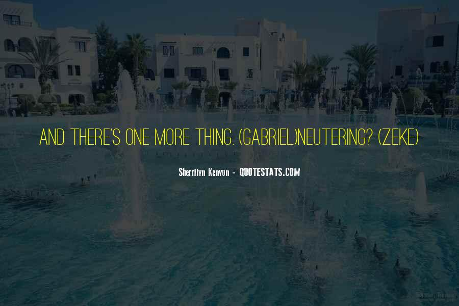Quotes About Neutering #427870