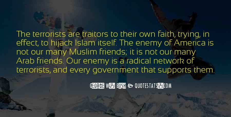 Quotes About Islam And Friends #699417