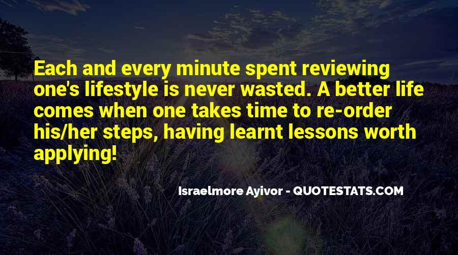Quotes About Having Your Time Wasted #1398045