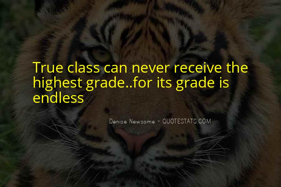 Quotes About Classy Life #283295