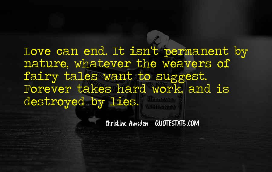 Quotes About Love Is Hard Work #103005