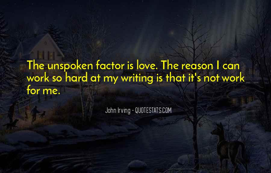 Quotes About Love Is Hard Work #1847469
