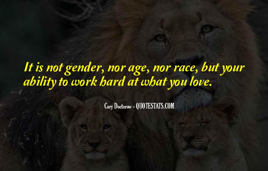 Quotes About Love Is Hard Work #572317