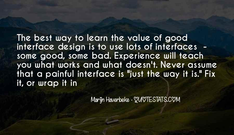 Quotes About Interfaces #265760