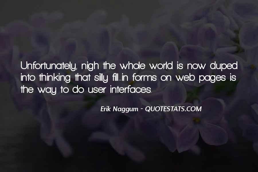 Quotes About Interfaces #29002
