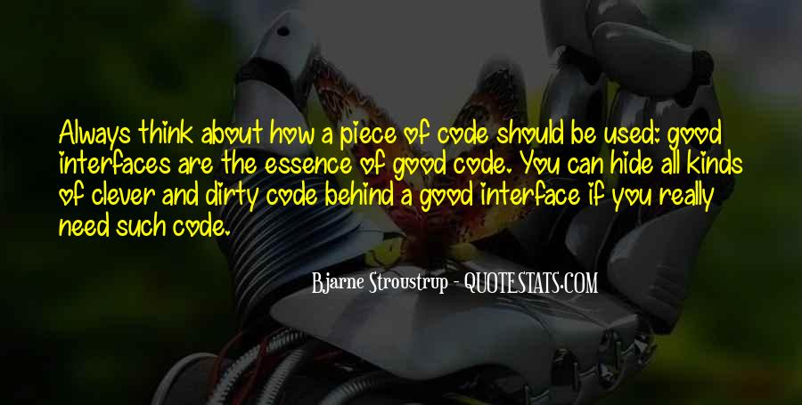 Quotes About Interfaces #421609