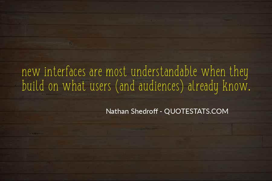 Quotes About Interfaces #757