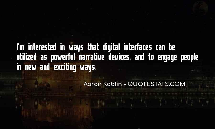 Quotes About Interfaces #929634