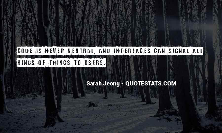Quotes About Interfaces #947942