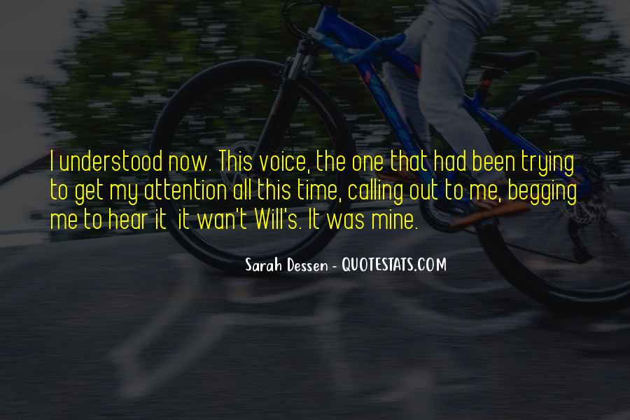 Quotes About Calling Attention To Yourself #525075
