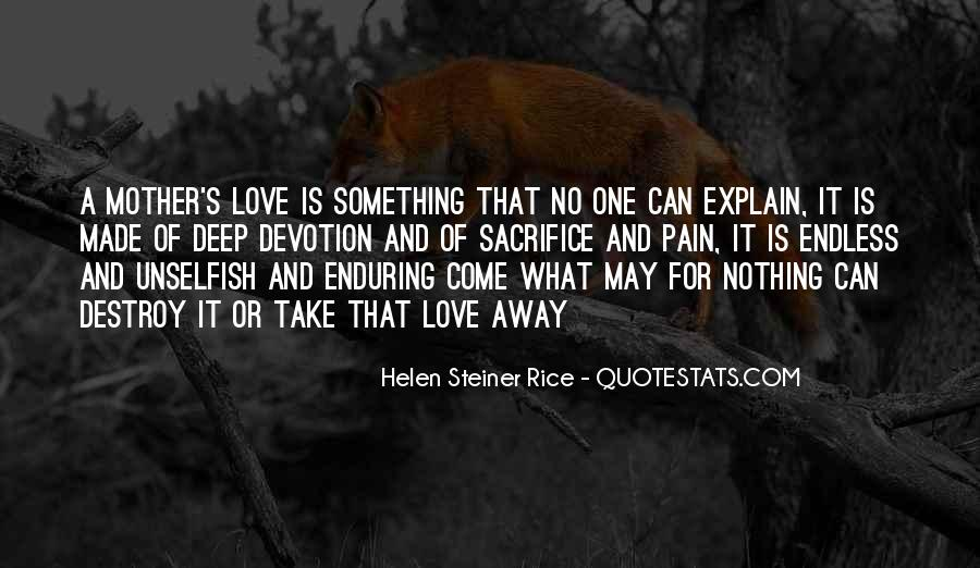 Quotes About Enduring Love #1429141