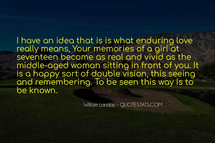 Quotes About Enduring Love #1638306