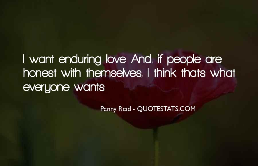 Quotes About Enduring Love #1654303