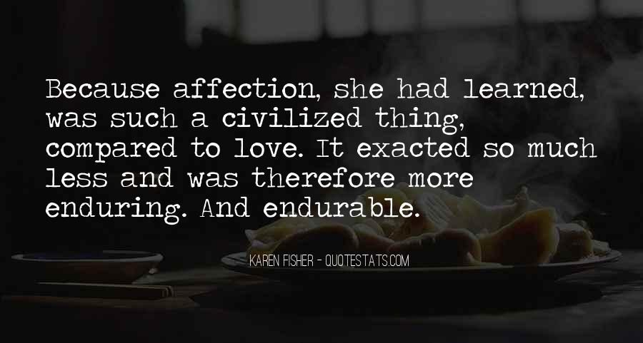 Quotes About Enduring Love #37559