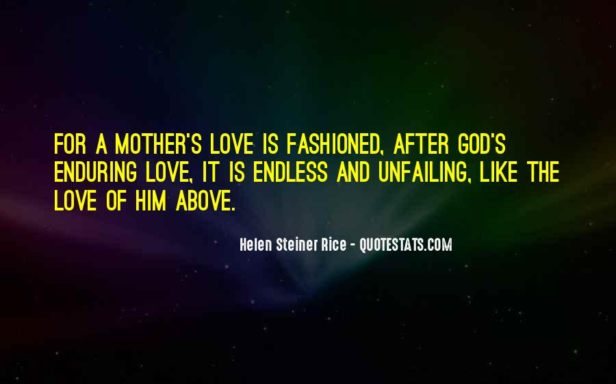 Quotes About Enduring Love #54954