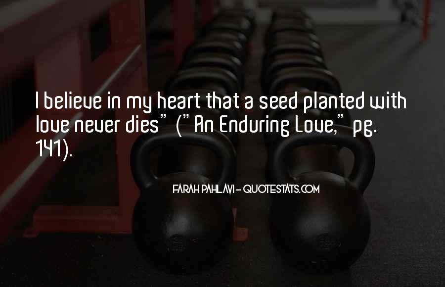 Quotes About Enduring Love #581765