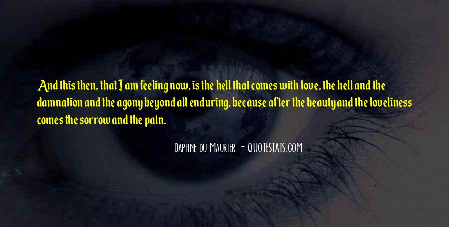 Quotes About Enduring Love #593216