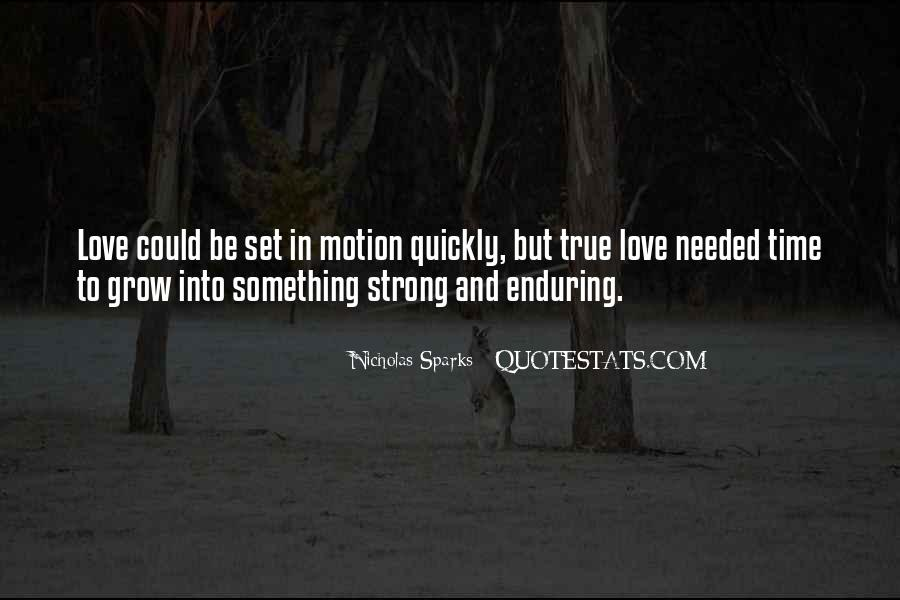 Quotes About Enduring Love #764753