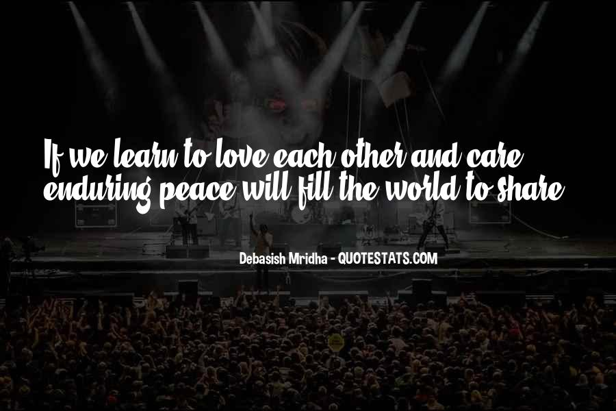 Quotes About Enduring Love #971569