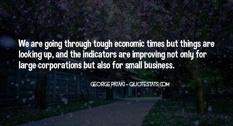 Quotes About Tough Times In Business #1644245