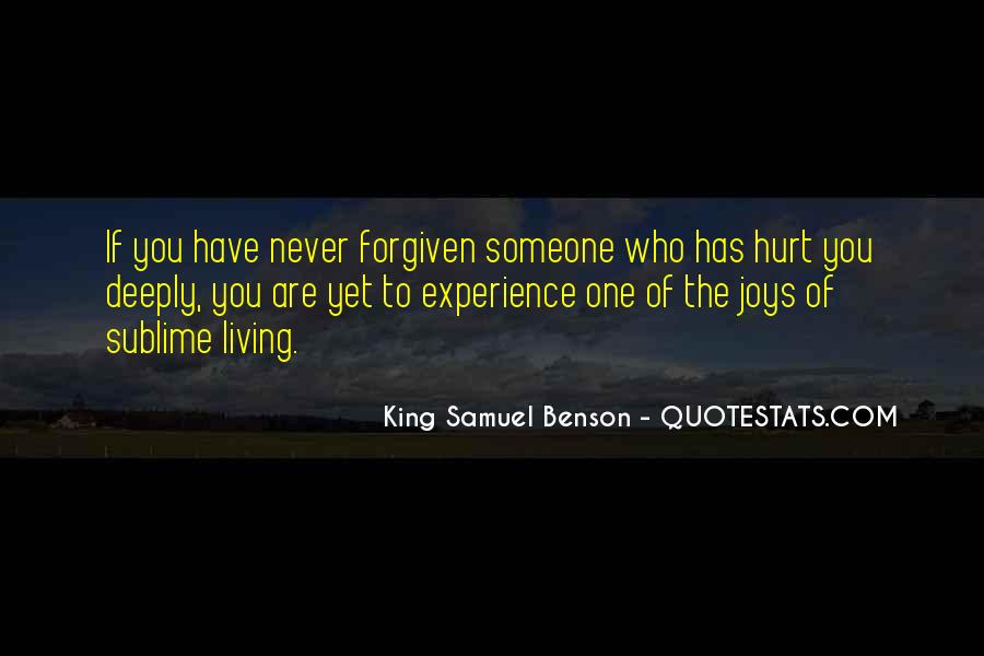 Quotes About Someone Who Hurt You #1647615