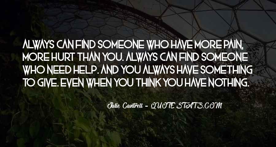 Quotes About Someone Who Hurt You #277848