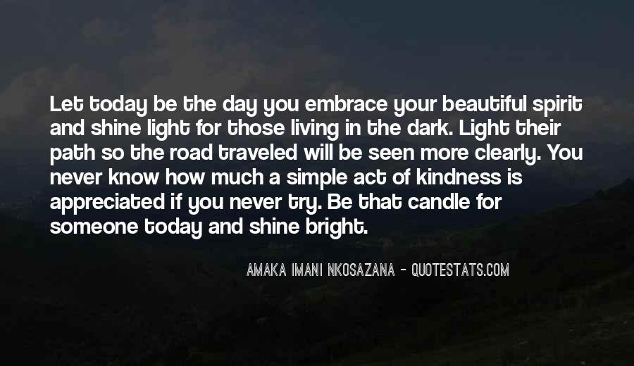 Quotes About Let Your Light Shine #1852115
