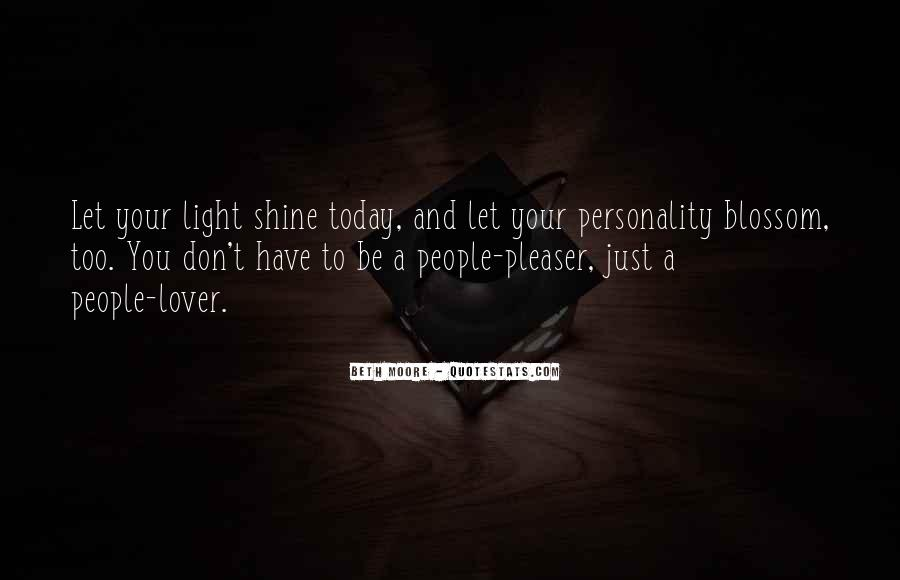 Quotes About Let Your Light Shine #964871