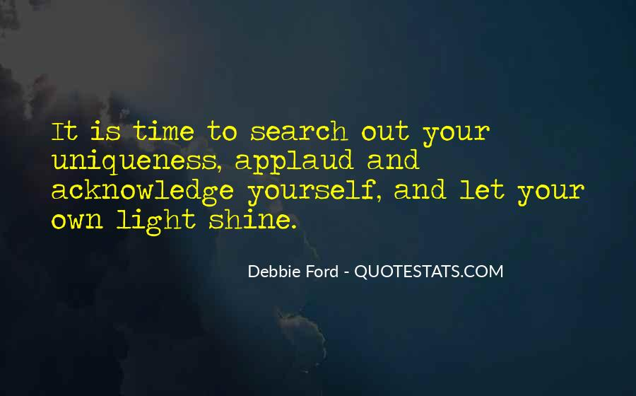 Quotes About Let Your Light Shine #966880