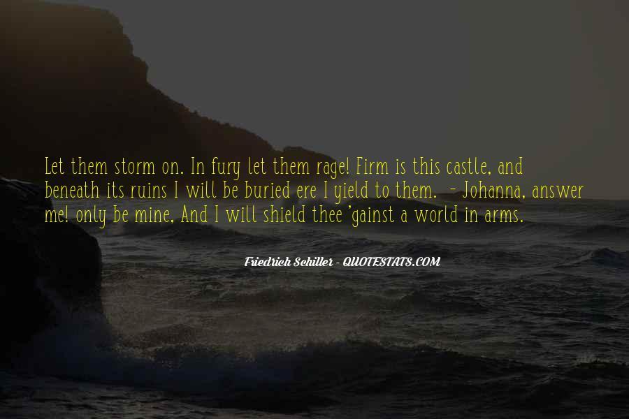 Quotes About Castle Ruins #1123648